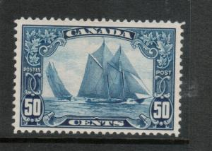 Canada #158 Very Fine Mint Lightly Hinged