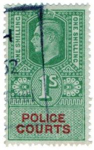 (I.B) George VI Revenue : Police Courts 1/-