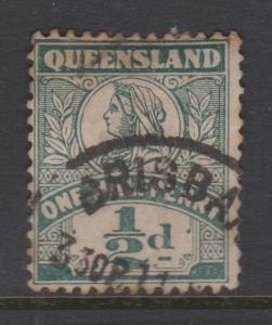 Queensland Sc#124 Used