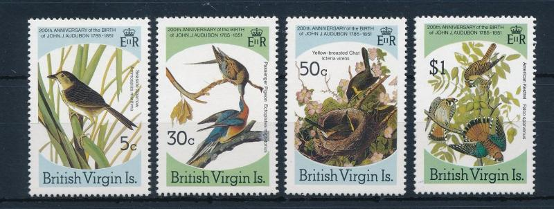 [52856] British Virgin Islands 1985 Birds Vögel Oiseaux Ucelli  MNH