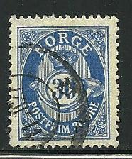 Norway # 90, Used