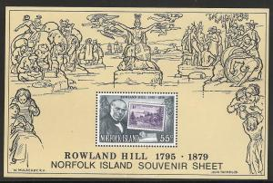 Norfolk Islands 248a 1979 Rowland Hill s.s. NH