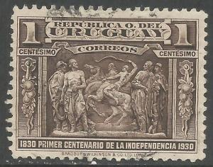 URUGUAY 395 VFU Z1561