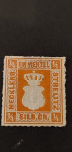 Germany Mecklenburg-Strelitz #1 Mint