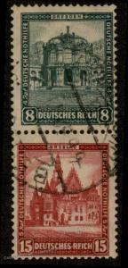 Germany Zusammendruck S88 Se-Tenant Stamp Multiple 63523