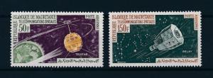 [96928] Mauritania 1963 Space Travel Weltraum Telstar Relay  MNH