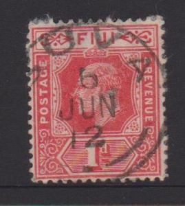Fiji Sc#72 Used - pinhole and thin