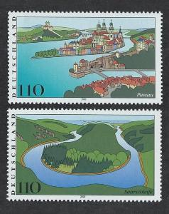 GERMANY SC# 2072-3 F-VF MNH 2000