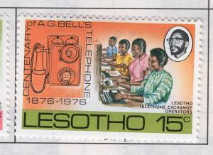 Lesotho MH Scott Cat. # 219