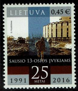 Lithuania #1069  MNH - Soviet Military Actions (2016)