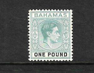 BAHAMAS 1938  1pnd  KGVI   FU  SG 157b