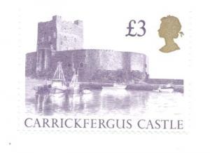 Graet Britain  Sc 1447Ac 1997 £3 Castle stamp mint NH
