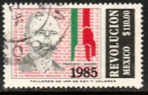 MEXICO 1418, 75th Anniversary of the Revolution FRANCISCO I MADERO  USED. F-VF