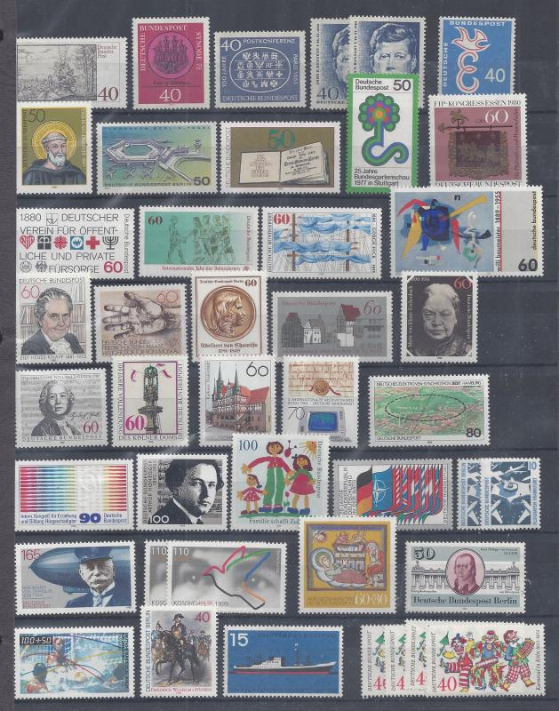 LOT OF GERMANY AND AREAS 20TH CENTURY~MINT~NH~USED~ LIGHT HINGED
