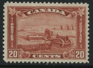 Canada 1930 20 cents brown red mint o.g.