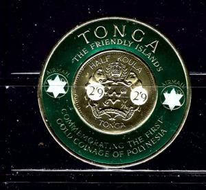 Tonga C12 MNH 1965 surcharge