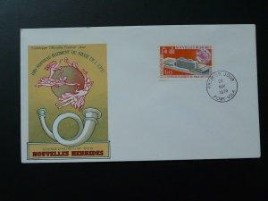 Universal Postal Union UPU FDC New Hebrides 80134
