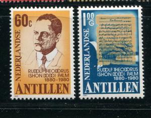 Netherlands Antilles #462-3 MNH - Make Me A Reasonable Offer