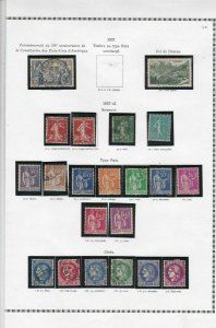 france 1937-41 stamps page ref 19839