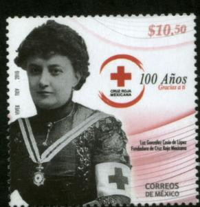 MEXICO 2672 100th Anniv. Mexican Red Cross. MINT, NH. VF.