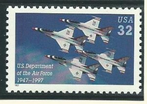 1997 United States Group of 7Unused Never Hinged Stamps