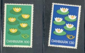 Denmark Sc 597-8 1976 Nordic Co-op stamp set mint NH