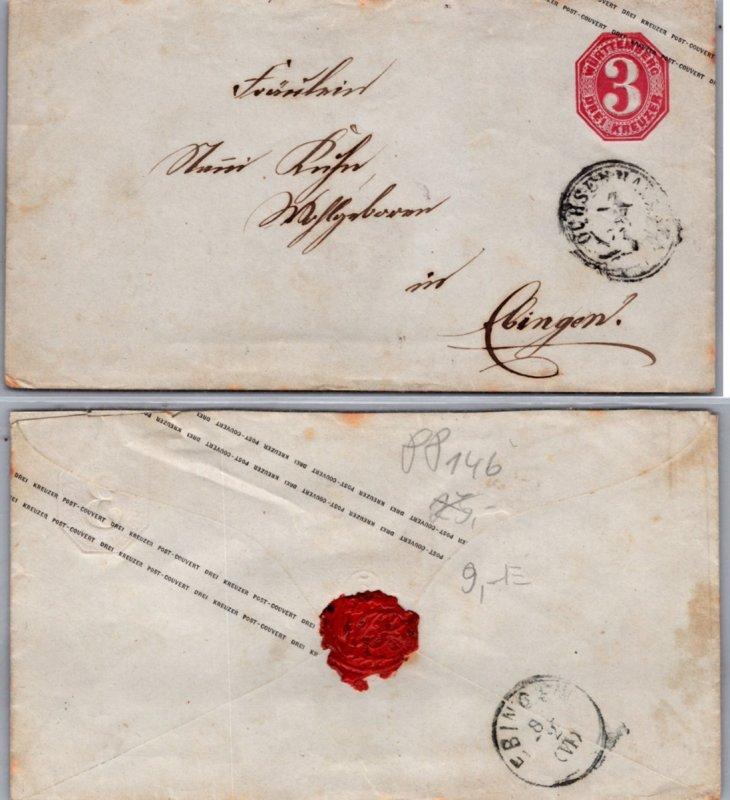 Germany Wurttemberg, Postal Stationary