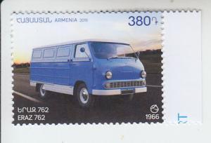 2018 Armenia Car Yeraz  (Scott 1170) MNH