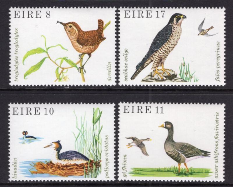Ireland MNH 449-52 Birds Fauna 1979