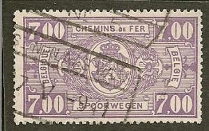 Belgium  Scott   Q255  Numeral    Used