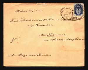 Russia 1899 Cover to Berlin - Z14799