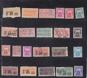 France: Parcel Tax Stamps, M//U (S18185)
