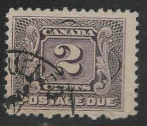 CANADA Scott J2 used postage due