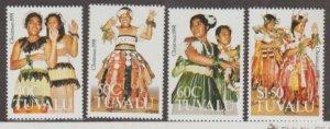 Tuvalu Scott #582-585 Stamps - Mint NH Set