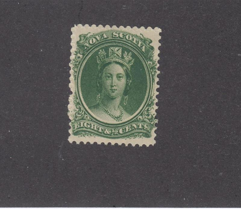 NOVA SCOTIA # 11 MLH QUEEN VICTORIA 8.5cts CAT VALUE $20+