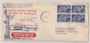 Australia: 1959 Flying Doctor cover w/ #305 signed cachet Fn