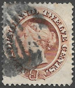 Newfoundland Scott Number 29 F Used