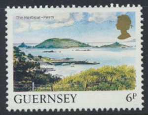 Guernsey Channel Islands SG 301 Used Harbour Herm 1984 SC# 288 See scan