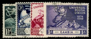 GAMBIA SG150-161, COMPLETE SET, VERY FINE USED. Cat £32.