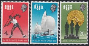 Fiji 280-282 MNH (1969)