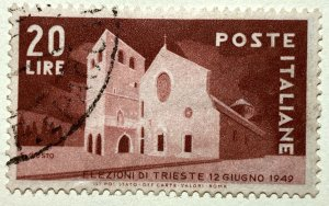 AlexStamps ITALY #521 VF Used