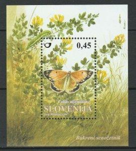 Slovenia 2007 Insects Butterflies MNH Block