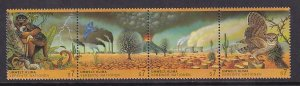 United Nations Vienna  #156-159a  MNH  1993  environment climate strip of 4
