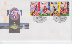 1996 Australia Football League Centenary 1496-99 FDC