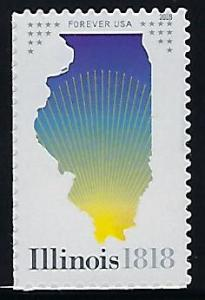 Catalog #5274 Single  Stamp Forever Illinois Statehood 200 Years