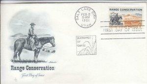 1961, Range Conservation, Artmaster, FDC (D14524)