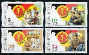 DDR #2776-2779 MNH CV$1.10