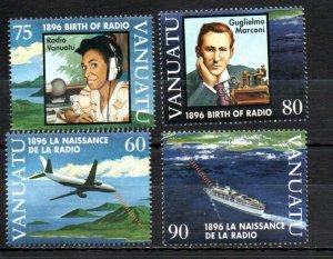 Vanuatu 680-683 MNH