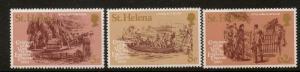 ST.HELENA SG358/60 1980 EMPRESS EUGENIES VISIT    MNH