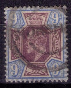 Great Britain Scott #136 USED CHALKY PURPLE & ULTRA (Sg 251) F-VF Cat.$80.00